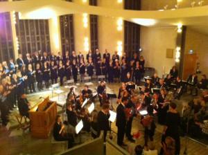 Orkester i Uppenbarelsekyrkan